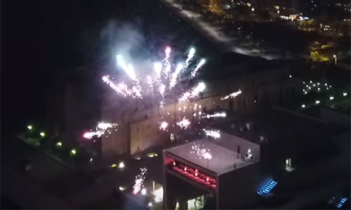 Thessaloniki, Gr - New year's eve 1/1/2018